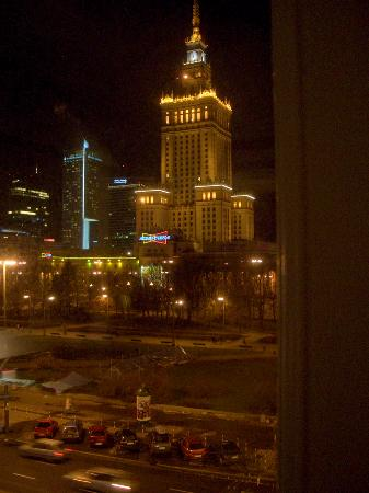 Polonia Palace Hotel: Window view
