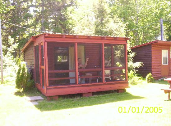 Miscou, Canada: Cabine disponnible avant