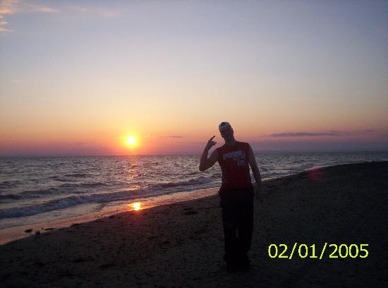 Coucher de soleil Miscou