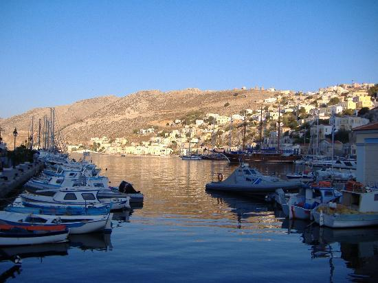 Symi, Hellas: Harbour