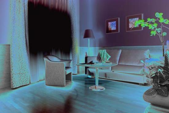Apartamentos Ramon de la Cruz 41 : esto es parte del salon, es grandisimo