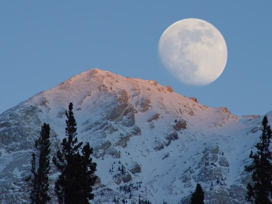 Yukon Territory, Canada: close to the moon