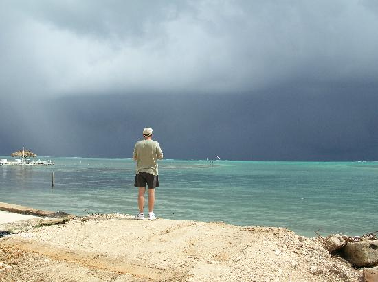 Ambergris Caye, Belize: Steve in San Pedro Town