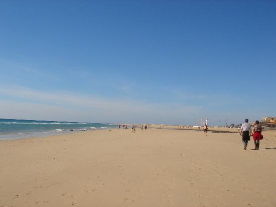 Hotel Faro Jandia & Spa: Part of the beach