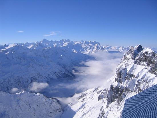 Engelberg, Suiza: View from Mount Titlis