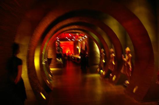 Buddha Bar: Entrance (fuzzy, no flash)