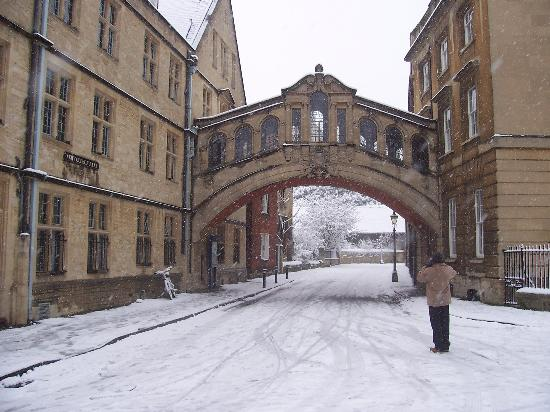 Оксфорд, UK: Bridge of Sighs