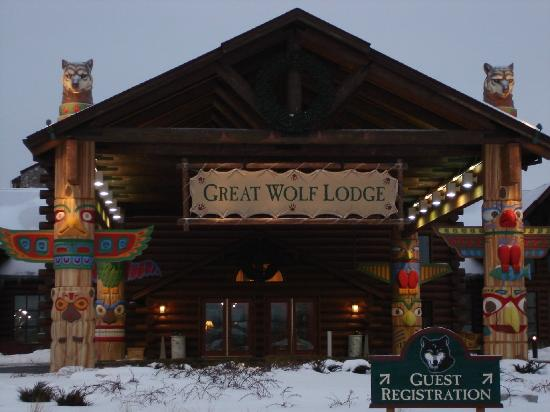 Great Wolf Lodge : Entrance