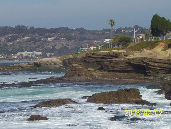 La Jolla Village Lodge: La Jolla Cove, just 3 or 4 blocks