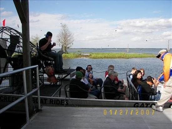 คิสซิมมี, ฟลอริด้า: Airboat at Boggy Creek