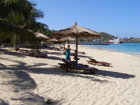 Tamarind Beach Hotel & Yacht Club: Beach by hotel (1)