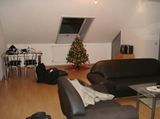 Apartmenthaus zum Hahn: Apartment Living Room