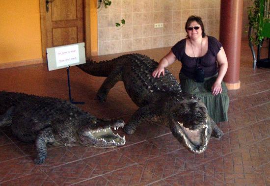 Crocodile Park: 2 former inmates.