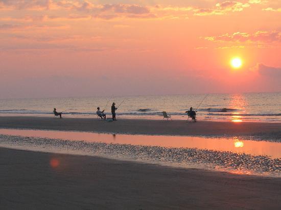 Χίλτον Χεντ, Νότια Καρολίνα: Fishing in the morning!
