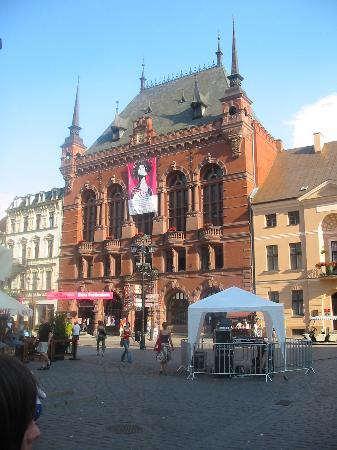 Torun, Polonya: Artus' court.