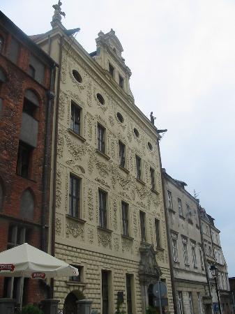 Torun, Poland: Dąmbski palace.