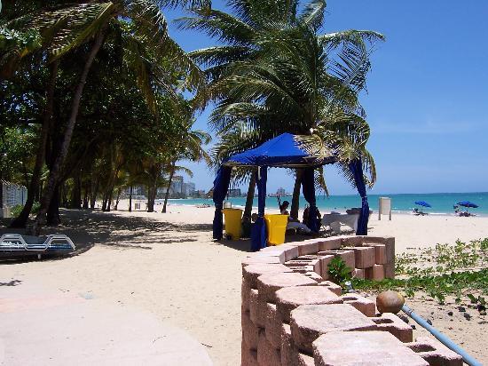Borinquen Beach Inn Directly Behind The