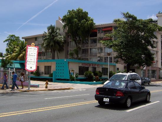 Borinquen Beach Inn A View Of The