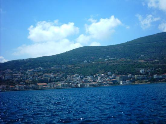 samos from the boat