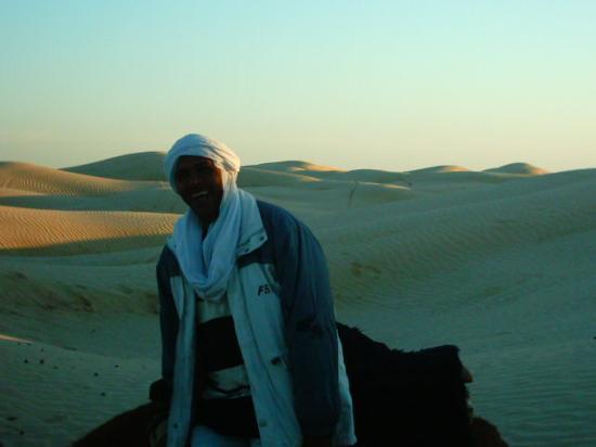 Marhaba Palace Hotel: the sahara sand dunes
