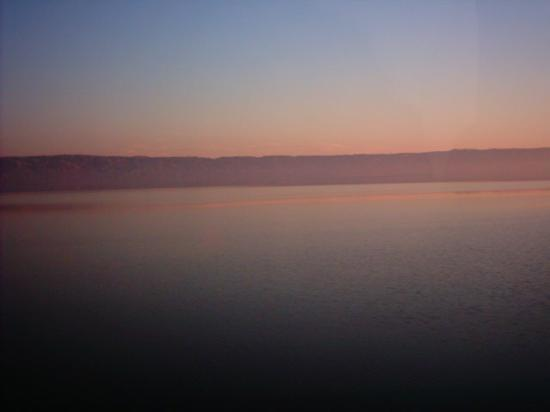Marhaba Palace Hotel: sun rise over tunisias largest salt lake