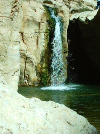 Marhaba Palace Hotel: waterfall in the mountains