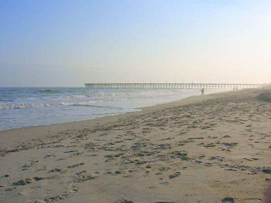 Topsail Beach, Carolina del Norte: New pier