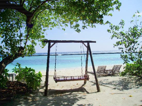 Veligandu Island Resort & Spa: Swing the afternoon away