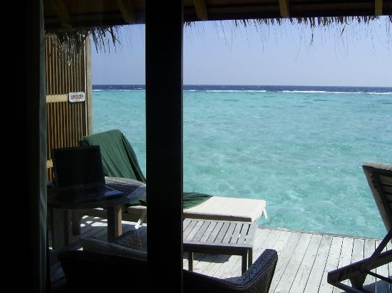 Veligandu Island Resort & Spa : What a view to wake up to