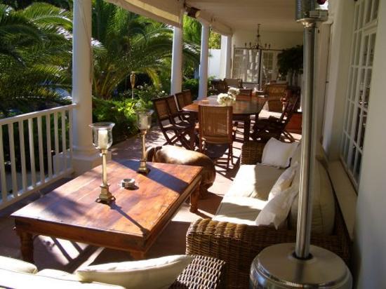 Villa Coloniale: Verandah