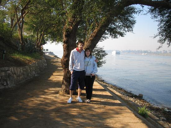 Jolie Ville Hotel & Spa - Kings Island, Luxor: the path surrounding the island - a lovely place to take a stroll