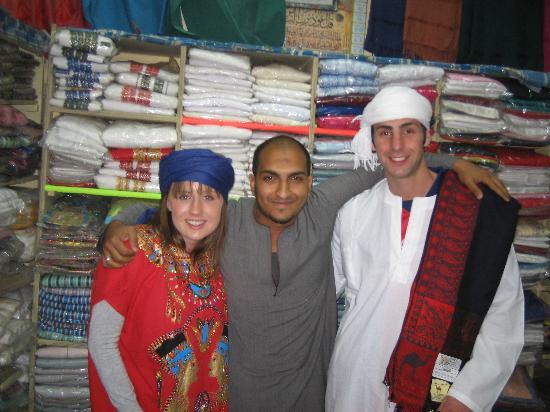 Jolie Ville Hotel & Spa - Kings Island, Luxor: in a shop down el-souk