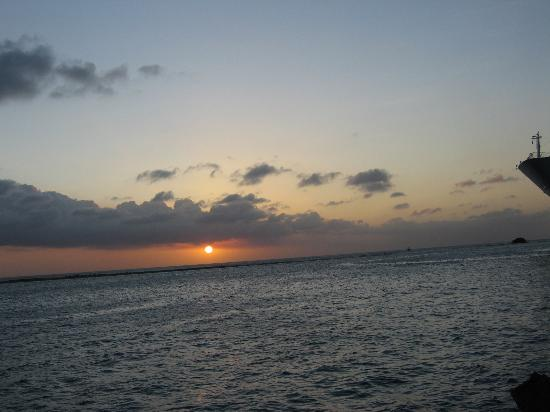 Le Chateau Aruba: Sunset
