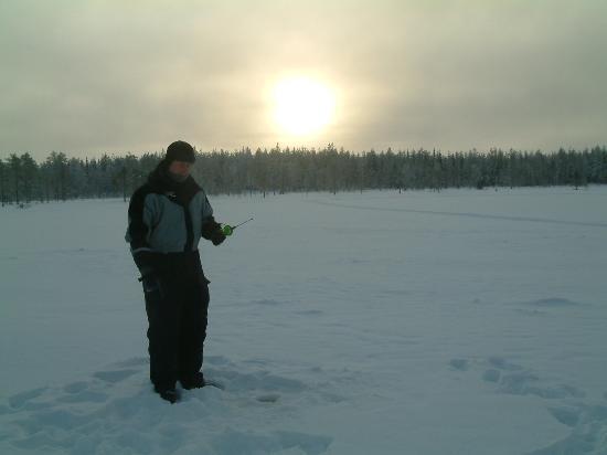 Hotel Iso-Syote: Ice fishing