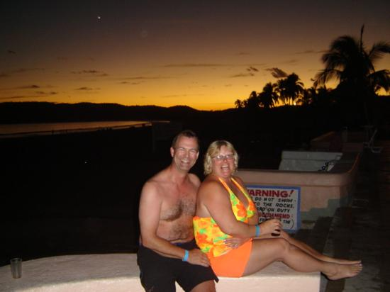 Los Angeles Locos: Sunset on the pool deck