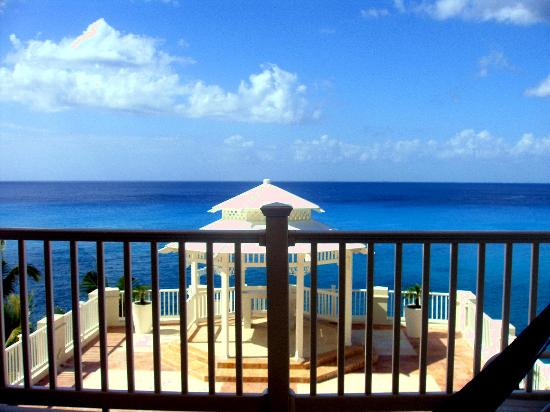 Cozumel Palace: view from room