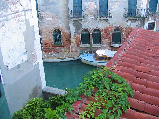 Hotel Dalla Mora: View from one of our windows