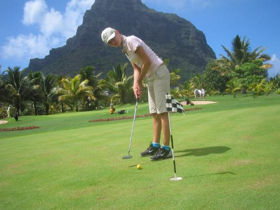 Beachcomber Dinarobin Hotel Golf & Spa: golf