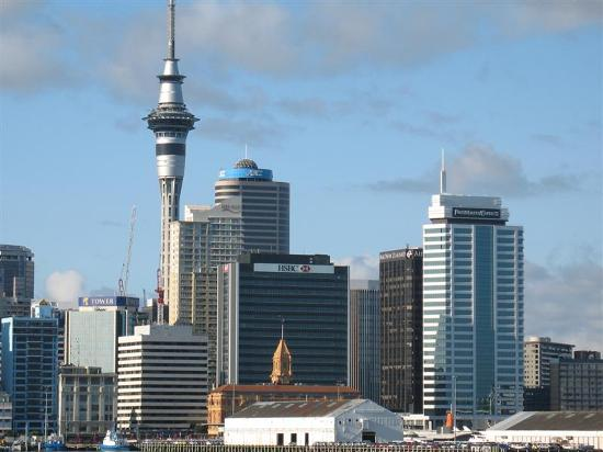 Copthorne Hotel Auckland City: Downtown Auckland