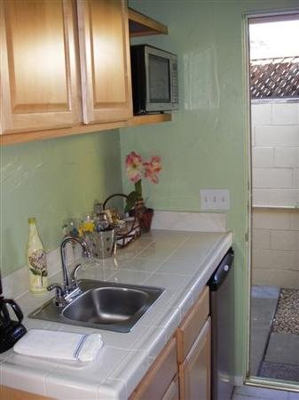 Old Ranch Inn : Well equipped kitchen