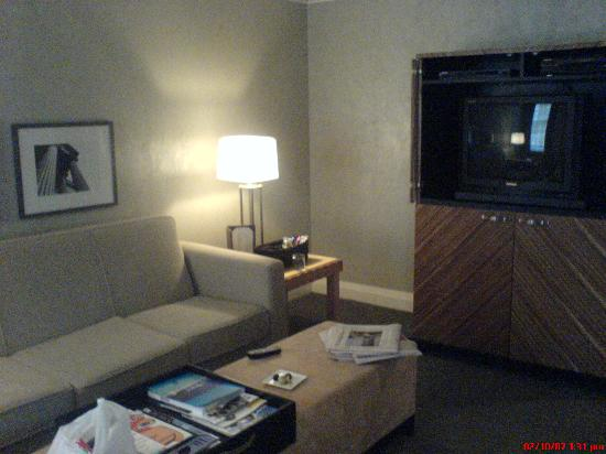 Windsor Arms Hotel: Livingroom with the old Panasonic Gaoo SDTV and DVD/VCR Player