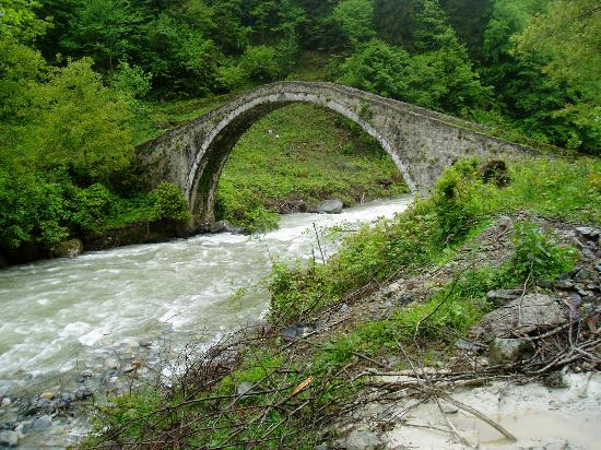 Trabzon İli, Türkiye: Another bridge, Senyuva
