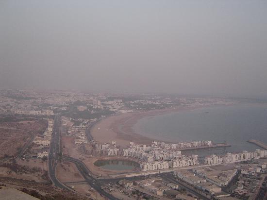 Residence Yasmina Agadir: Agadir from the top