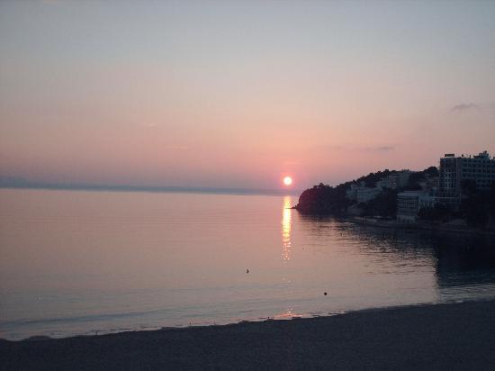 Hotel Son Matias Beach: sunrise from room