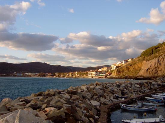 Greece: Skala Eressos From Harbour
