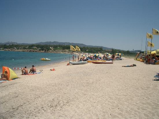 Провинция Ольбия-Темпио, Италия: Mannena Beach near Cannigione
