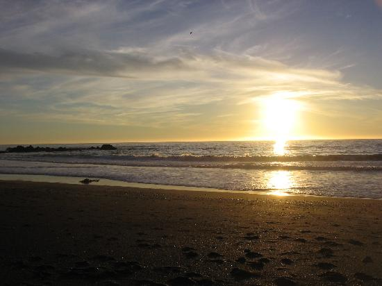 Moonstone Beach Sunset