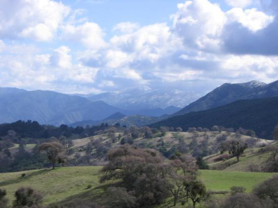 Carmel Valley, Калифорния: View from the top