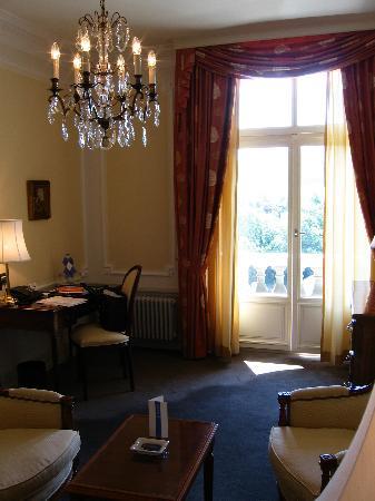 BELLEVUE PALACE Bern : Suite