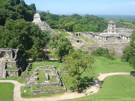 National Park of Palenque: City of Palenque